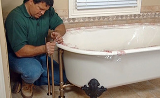showers and tubs installation